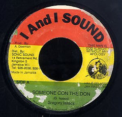 GREGORY ISAACS [Someone Con The Don]