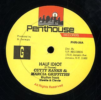 MARCIA GRIFFITHS & CUTTY RANKS [Half Idiot/ Re-Mix]