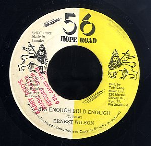ERNEST WILSON [Big Enough Bold Enough]