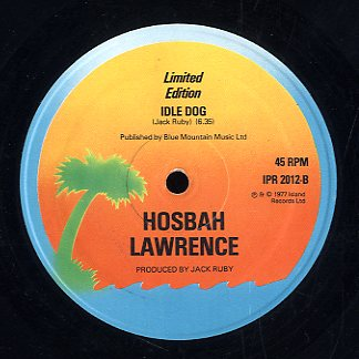 HOSBAH LAWRENCE [Gold Spoon / Idle Dog]