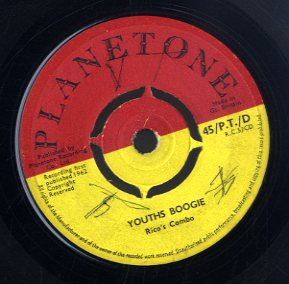 RICO'S COMBO / SYLVESTER & THE BOYS [Youth Boogie / Western Serinade]