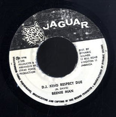 BEENIE MAN [D.j. King Respect Due]