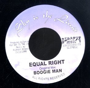 BOOGIE MAN [Equal Right]