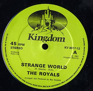 THE ROYALS [Strange World / No One Knows]