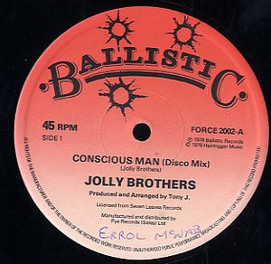 JOLLY BROTHERS / PRODIGAL CREATOR [Concious Man / Isap]