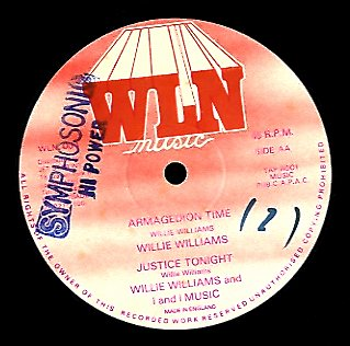 WILLIE WILIAMS [Armagedion Time / Re Partriation]