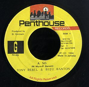 BUJU BANTON & TONY REBEL [A So]