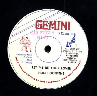 HUGH GRIFFITHS [Let Me Be Your Lover]