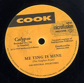 ORCHESTRAL OVERTURES [Me Ting Is Mine / Whey You Want To Touch It For]