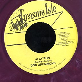DON DRUMMOND / JUSTIN HINDS [Ally Pon / Mother Banner]