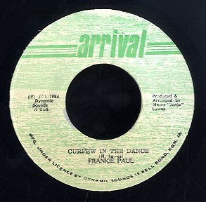 FRANKIE PAUL [Curfew In The Dance]