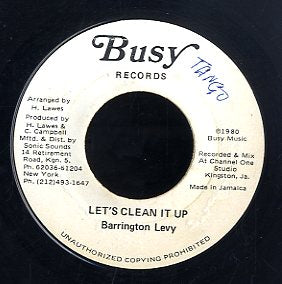 BARRINGTON LEVY [Let's Clean It Up]