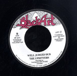 CLIVE HYLTON / THE UPSETTERS [Judgement Day / Well Judged Dub]
