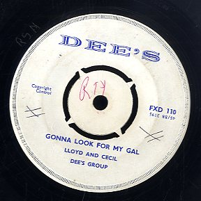 DEE'S GROUP / LLOYD & CECIL [Dee's Special / Gonna Look For My Gal ]