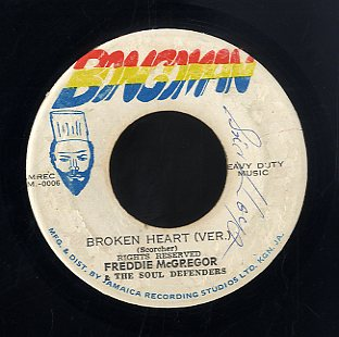 PRINCE JAZZBO / FREDDIE MCGREGOR [Pepper Rock / Broken Heart Version]