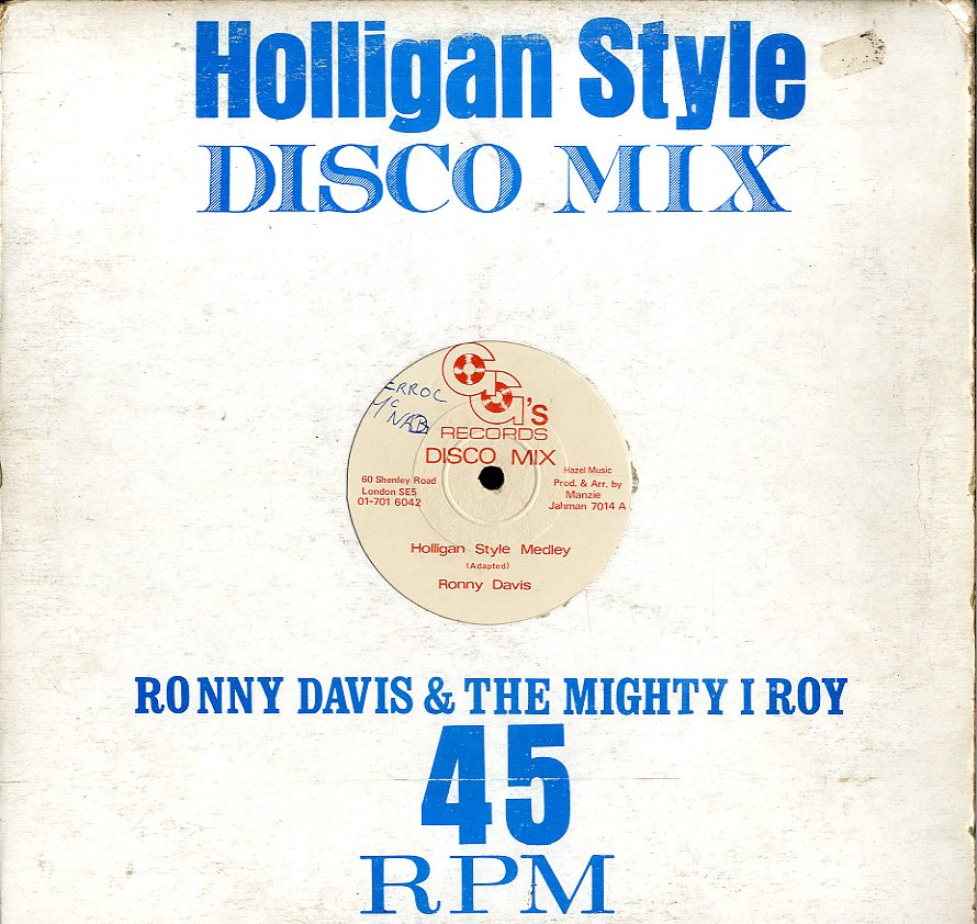 RONNIE DAVIS / I ROY [Holligan Style Medley / Economic Package]