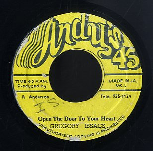 GREGORY ISAACS [Open The Door To Your Heart]