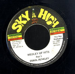 ERROL DUNKLEY  [Medley Of Hits Pt.1 / Medley Of Hits Pt.2]