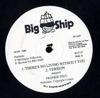 FRANKIE PAUL / FLOURGON [There's No Living Without You / Feel The Pressure]