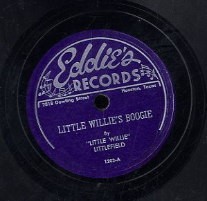 LITTLE WILLIE LITTLEFIELD [Little Willie's Boogie / My Best Wish]