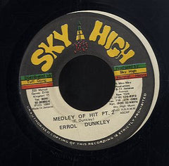 ERROL DUNKLEY / NINJA FORD [Medley Of Hits Pt.2 / Hot Stuff]