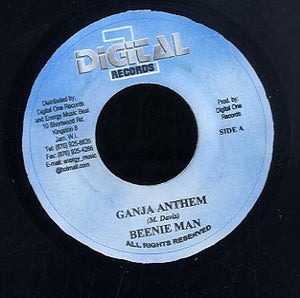 BEENIE MAN / AMIN BRASCO  [Ganja Anthem / Under Mi Charm]