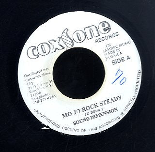 SOUND DIMENTION [Mo Jo Rock Steady]