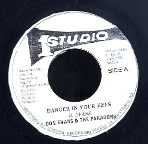 DON EVANS & THE PARAGONS [Danger In Your Eyes]