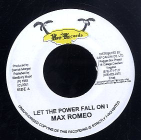 MAX ROMEO [Let The Power Fall For I ]