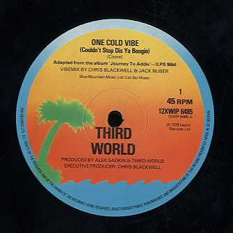 THIRD WORLD [One Cold Vibe / Tribal War, Rhythm Of Life ]