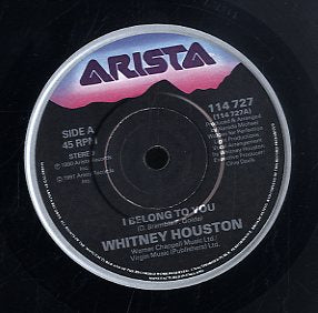WHITNEY HOUSTON [I Belong To You / One Moment In Time]