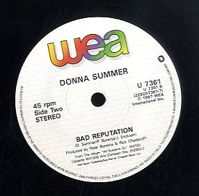DONNA SUMMER [When Love Takes Over You (Remix) / Bad Reputation]