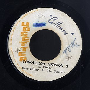 DAVE BARKER / THE UPSETTERS [Conqueror Version 3 / My Mother In Law]