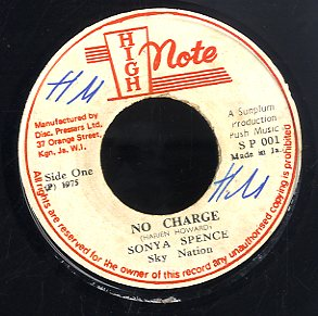SONYA SPENCE [No Charge]