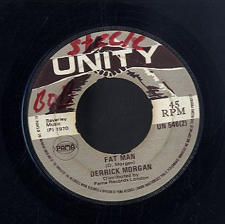 DERRICK MORGAN / VAL BENNETT [Fat Man /  South Parkway Rock]