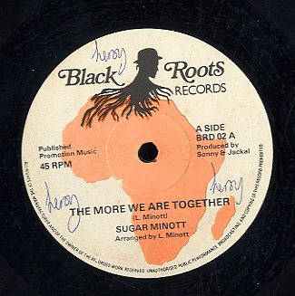 SUGAR MINOTT [The More We Are Together / More Wedub The Rythem / King Of Kings / King Of Kings Dub]
