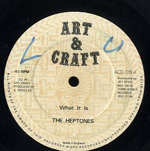 THE HEPTONES [What It Is]