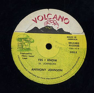 ANTHONY JOHNSON / HORACE MARTIN [Yes I Know / Just Call Me]