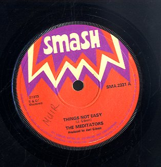 THE MEDITATORS / BONGO HERMAN & BINGY BUNNY [Things Not Easy / Ration]