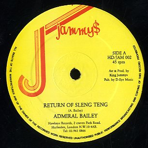 ADMIRAL BAILEY [Return Of Sleng Teng / Science]