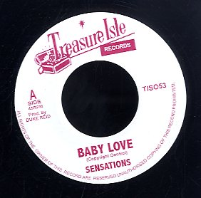 SENSATIONS / H. LEWIS & C. FEW  [Baby Love  / Boom Sharka Laka ]