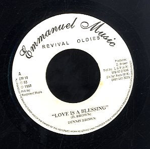 DENNIS BROWN [I Like It Like That / Love Is A Blessing]