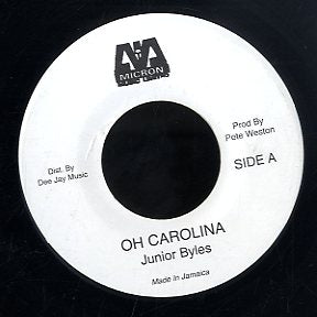 JUNIOR BYLES [Oh Carolina / Shut Eye Country]