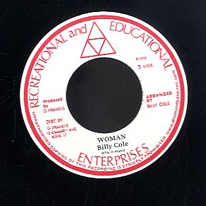 BILLY COLE [Woman / Bump All Night]