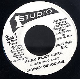 JOHNNY OSBOUNE [Play Play Girl]