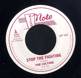 THE CULTURES [Stop The Fighting]