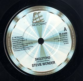 STEVIE WONDER [Skeletons]