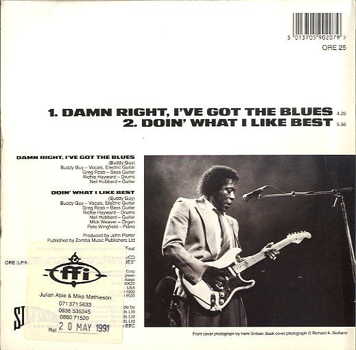BUDDY GUY [Doin' What I Like Best / Damn Right I've Got The Blues]