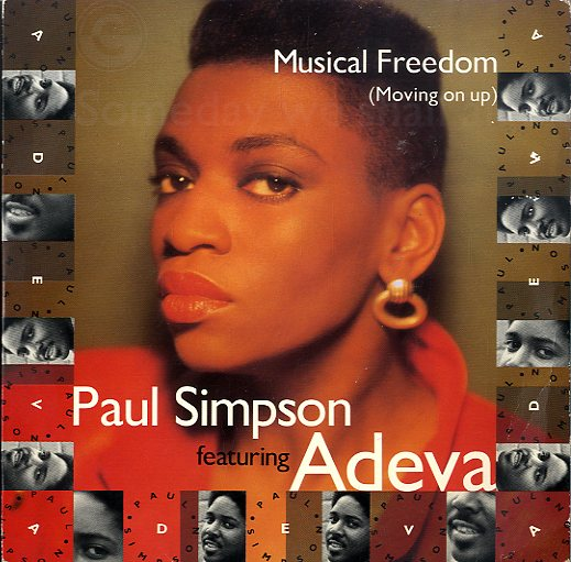 PAUL SIMPSON FEAT. ADEVA [Musical Freedom(Moving On Up)]