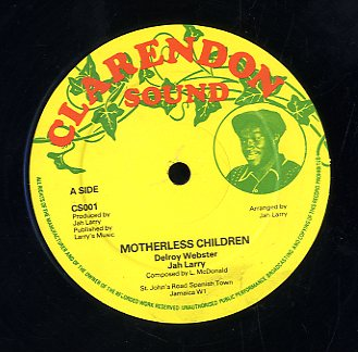 DELROY WEBSTER & JAH LARRY [Motherless Children / Book Of Love]